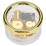 Hilitand Carillon di Orologio a Spirale Trasparente con meccanismo a Molla a Carica Automatica per Bambini Musica Musicale per Bambini (8 Melody)(Swan Lake)