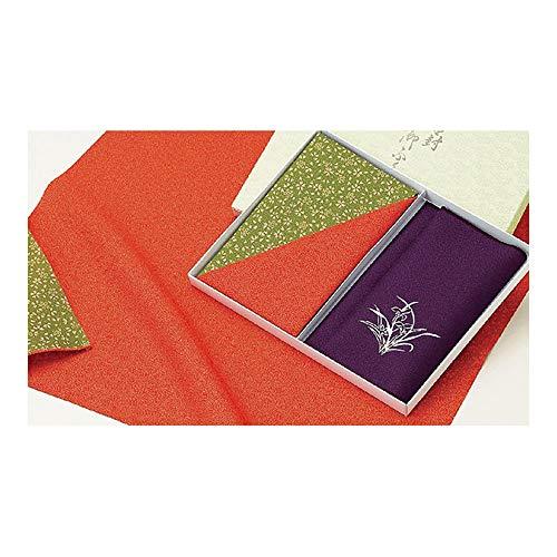 大興産業 慶弔事用ふくさ 赤、紫 サイズ/小ふろしき:約48×50cm、金封ふくさ:約12×20cm