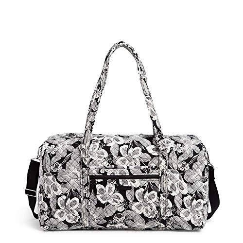 Vera Bradley Women's Signature Cotton Lay Flat Travel Duffle Bag, Bedford...