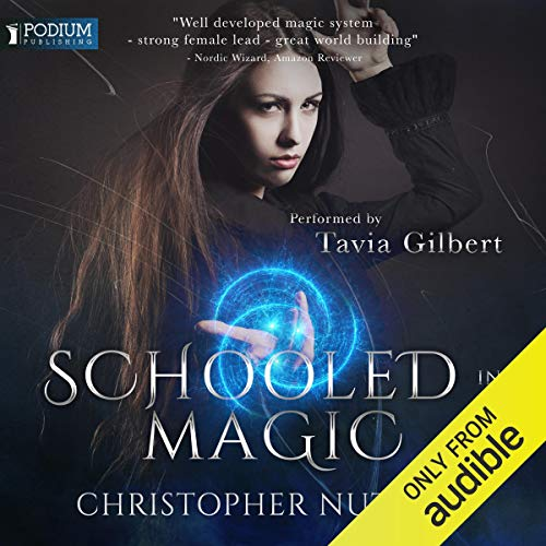 Schooled in Magic audiobook cover art