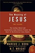 The Meaning of Jesus: Two Visions (Plus) by Marcus Borg (2-Aug-2007) Paperback