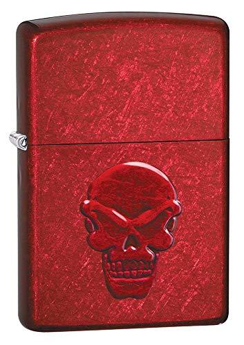 Zippo Doom Candy Apple Red Pocket Lighter