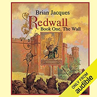 Redwall: Book One: The Wall                   By:                                                                                                                                 Brian Jacques                               Narrated by:                                                                                                                                 Brian Jacques                      Length: 3 hrs and 7 mins     6 ratings     Overall 3.8