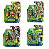 Giochi Preziosi Turtles Rise off Pers. Base Ass.2 Personaggi E Playset Maschili, Multicolore, 8056379070948