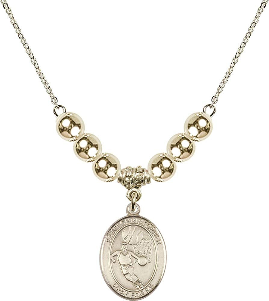 Bonyak Jewelry 18 Inch Hamilton Plated Courier shipping Special price for a limited time free Necklace 6mm w Gold