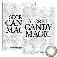 Secret Candymagic monthly シークレット キャンディー マジック マンスリー 【カラー】グレージュ 【PWR】-0.75 1枚入 2箱