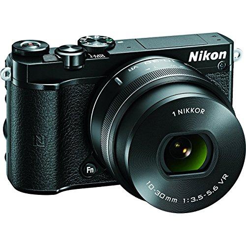 Nikon 1 J5 Digital Camera w/ NIKKOR 10-30mm f/3.5-5.6 PD Zoom Lens (Black)(Renewed)