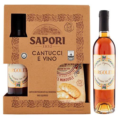 SAPORI - CONFEZIONE CANTUCCI E VIN SANTO - 1 PZ