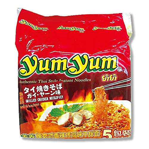 インターフレッシュ yumyum インスタント タイ焼きそば ガイ・ヤーン味 350g ×6袋