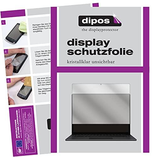 dipos I 2X Protector de Pantalla Compatible con Microsoft Surface 4 13.5 Pulgada pelicula Protectora Claro