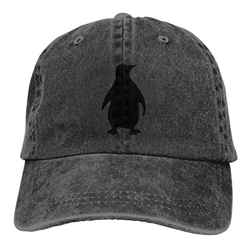 Preisvergleich Produktbild Voxpkrs Trucker Cap Shadow of The Penguin Durable Baseball Cap, Adjustable Dad Hat Black Cool15934