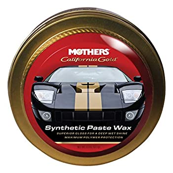 Mothers 05511 California Gold Synthetic Paste Wax - 11 oz.