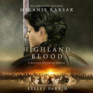 Highland Blood audiobook cover art