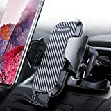 DesertWest Air Vent Car Phone Mount Hassle-free Cell Phone Holder Universal Compatible with iPhone 11 Pro X XS Max XR 8 7 6+, Samsung Galaxy S10 S10+ S10e S9 S8 S7 and More