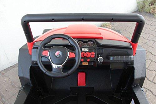 RC Auto kaufen Kinderauto Bild 3: OFFROAD UTV ALLRAD 4x45W 2x12V Elektroauto Kinder Elektro Auto Kinderfahrzeug Ferngesteuert Elektro (Weiss)*