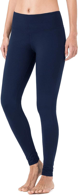 schwarz//hellgrau//navy NAVISKIN Damen Slim-Laufhose Thermoleggings Innenfleece w/ärmeisolierende Sport-Leggings Jogging-Yogahose mit Schl/üsseltasche