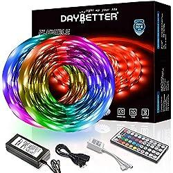 Led Strip Lighting 65.6 Ft 5050 RGB 300 LEDs Flexible Color Changing Light Room
