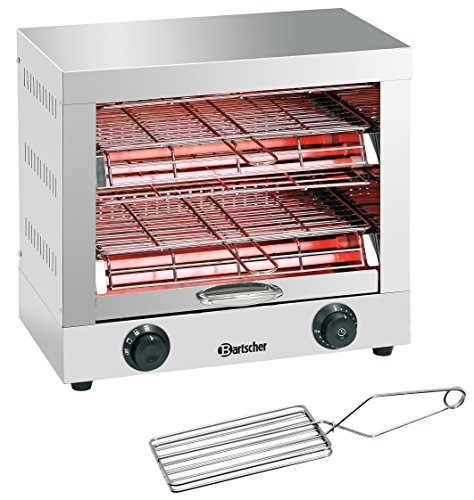 Bartscher Toast- Überbackgerät doppelt 84198180 Art. A151600