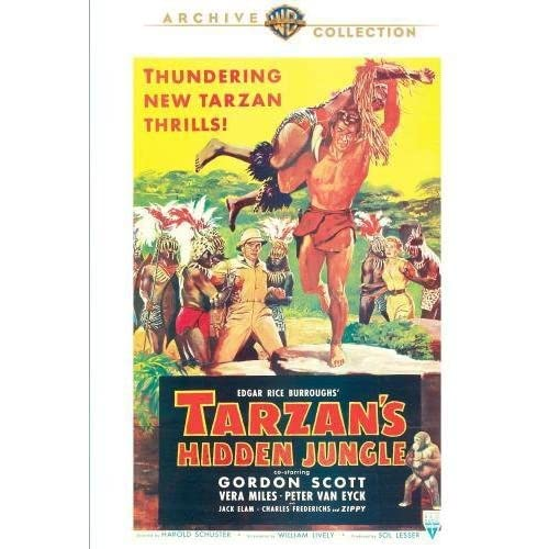 Tarzans Hidden Jungle [Edizione: Stati Uniti]