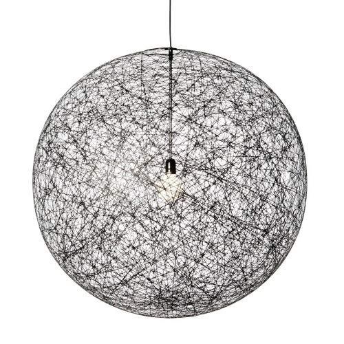 Moooi Random Light LED Pendelleuchte, schwarz, ø105 cm