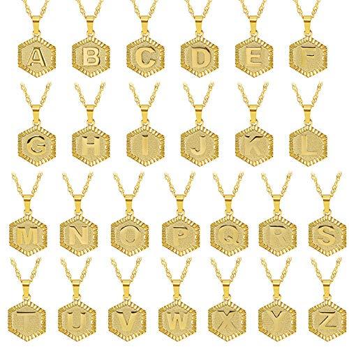 Fnho Crystal Rhinestone Saturn,Pearl Necklaces White Planet Crystal,Cadena de clavícula de Acero Inoxidable, Collar Personalizado con Letras DIY-O