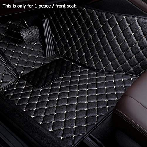 ZhengELE Personalizadas Car tapetes for Volkswagen Todos los Modelos de VW Passat del Polo Golf Jetta Tiguan Touran Touareg EOS (Color Name : Red)