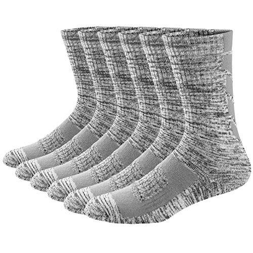 Ueither Calcetines de Senderismo y Trekking para Hombre y Mujer, Térmicos Transpirables Calcetines de Montaña Para Otoño e Invierno