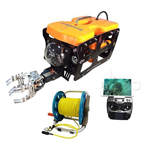 ThorRobotics Underwater Drone ROV 4K View HD Camera Drones FPV Lite Version with Mechanical Arm...