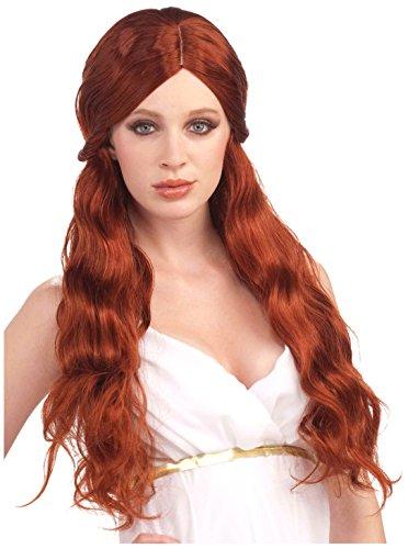 Forum Novelties Women's Venus Wig, Auburn, One Size