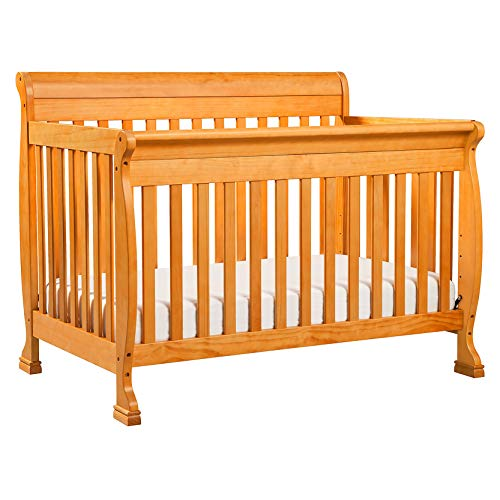 DaVinci Kalani 4-in-1 Convertible Crib in Oak, Greenguard Gold Certified