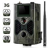 SUNTEKCAM 3G Caméra de Chasse Caméra de Surveillance Étanche 16MP 1080P HD 25m Grand Angle 120° De Vision Nocturne Traque IR Caméra de Jeu Nocturne Infrarouge HC-330G