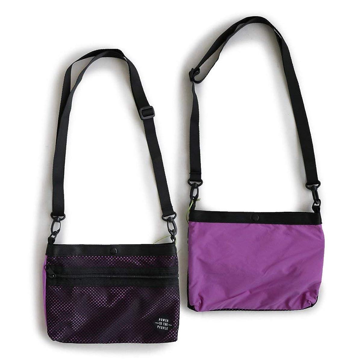 一緒にハーネスメロディアスムービング サコッシュ バッグ かばん 鞄 ミニバッグ 巾着 ストレッチ 撥水 収納 ストラップ取り外し可能