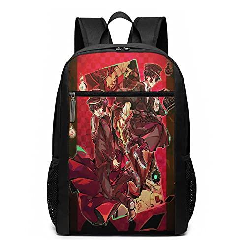 Toi_Let Bo_Und Ha_Na_Ko Kun Anime Rucksack für Reisen, Laptop, Tagesrucksack, 3D-Druck, lustige Schultasche, 43,2 cm (17 Zoll) Gr. One size, Schwarz