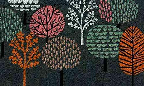 Coryl Gaya Tapis, PVC, Multicolore, 45 x 75 cm