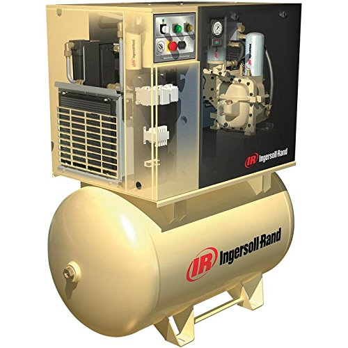 Ingersoll Rand Rotary Screw Compressor with Total Air System -...