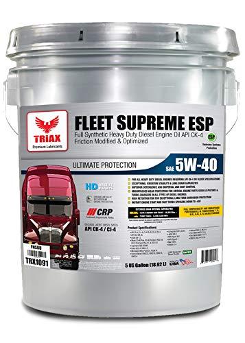 Triax Fleet Supreme ESP 5W-40 Ultimate Full...