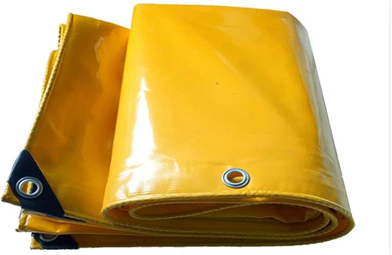 Z&YY Couvertures extérieures pour baches de bache de Prougeection en bache de bache extérieure épaisses - Jaune, 650G   M2