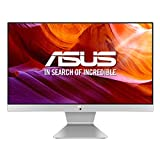 ASUS Vivo AiO V222GAK-WA043D - Sobremesa todo-en-uno de 21.5' FHD (Pentium Silver J5005, 8 GB RAM, 256 GB SSD, Endless OS (en inglés)) Blanco y Plata - Teclado QWERTY español