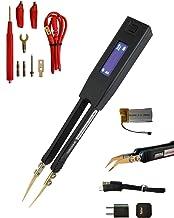 Pinzette intelligenti LCR-Reader Pro: multimetro digitale Misuratore di induttanza con misuratore LCR con connettore della sonda Kelvin, caricabatterie e sonde ergonomiche piegate