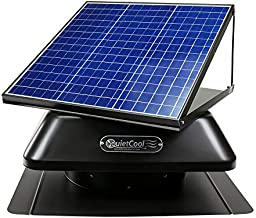 QuietCool 40 Watt Solar Powered Roof Mount Attic Fan