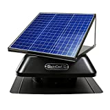 QuietCool 40 Watt Solar Powered Roof Mount Attic Fan
