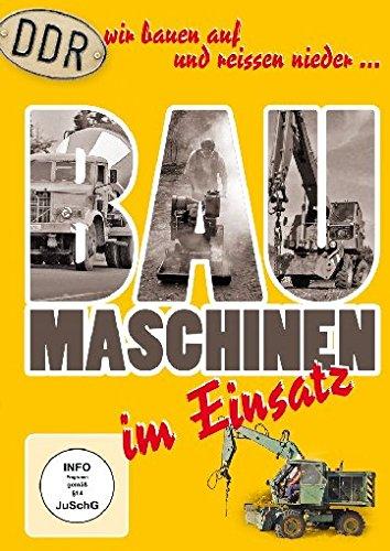 DDR Baumaschinen im Einsatz - Wir bauen auf und reissen nieder...