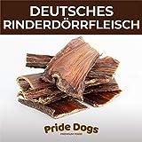 PrideDogs Rinderdörrfleisch 30 cm 500g der Premium Kausnack für Ihren Hund   100% Rind aus Deutscher Herstellung   im geruchsneutralen Beutel   Kauartikel
