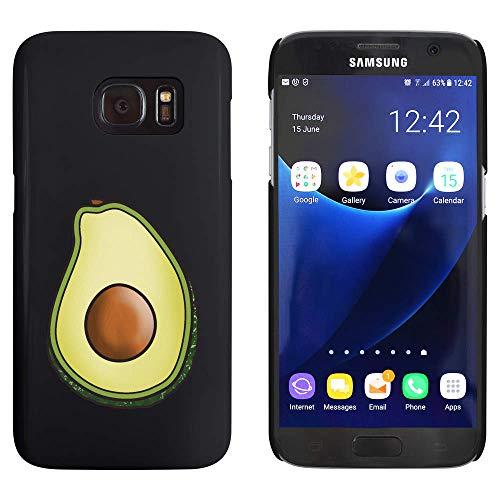 Azeeda Negro 'Aguacate' Funda / Carcasa para Samsung Galaxy S7 (MC00183696)
