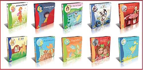 Lot de 10 livres pour enfants (à partir de 3 ans)