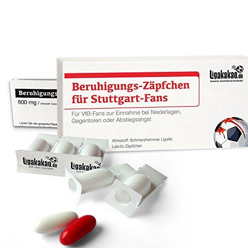 Geschenk männer ist jetzt BERUHIGUNGS-ZÄPFCHEN® für VfB-Fans by Ligakakao.de