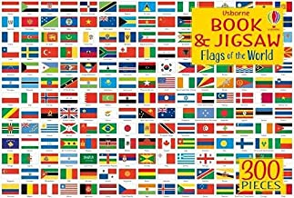 Usborne Book and Jigsaw Flags of the World