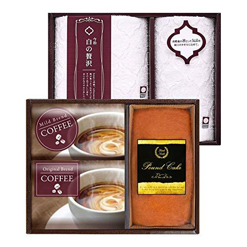今治製タオル&金澤パウンドケーキ・珈琲セット IK-30