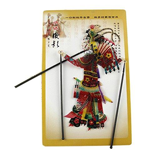 Blancho Marionnette chinoise traditionnelle pour ombre à paupières, marionnette à main, femme en général