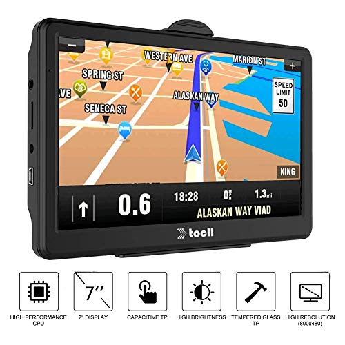 GPS Navigation,GPS Navigation for Car,7 Inch Car GPS Navigation System 8GB Touch Screen Vehicle GPS Navigator with Lifetime Map Update